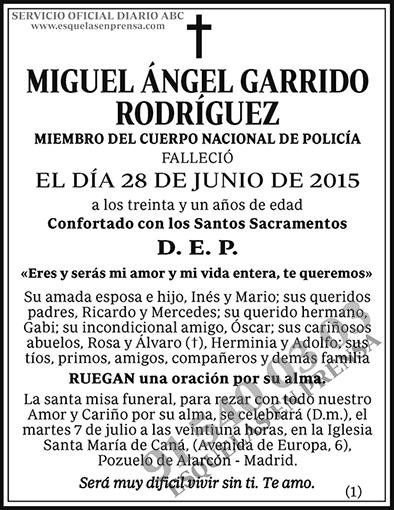Miguel Ángel Garrido Rodríguez